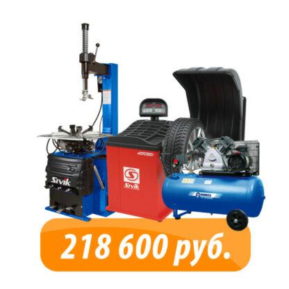 Готовый комплект шиномонтажного оборудования SIVIK PRO 1