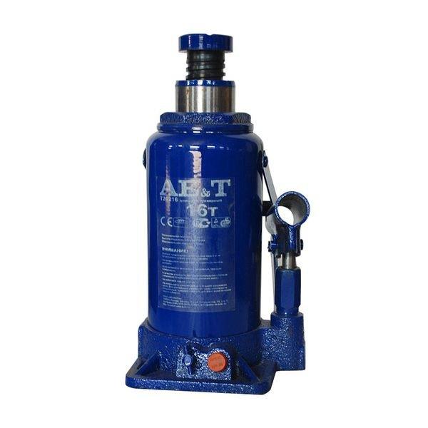 AE&T T20216 Домкрат бутылочный 16т 1