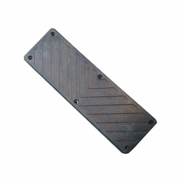 Упор резиновый прямоуг арт.5004093 RUBBER PAD PLATE 1