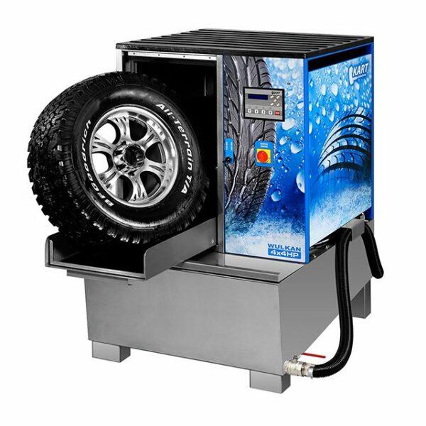 Мойка для колес Kart Wulkan 4х4HP с подогревом воды 1