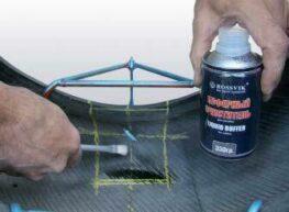 Ремонт легковых шин по одноэтапной технологии 13