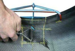 Ремонт легковых шин по одноэтапной технологии 14