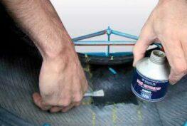 Ремонт легковых шин по одноэтапной технологии 18