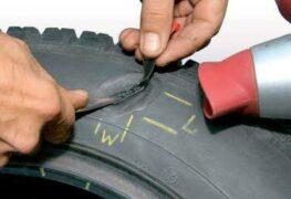 Ремонт легковых шин по одноэтапной технологии 24