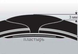 Ремонт легковых шин по одноэтапной технологии 25